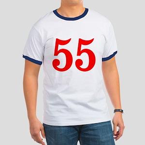 RED #55 Ringer T
