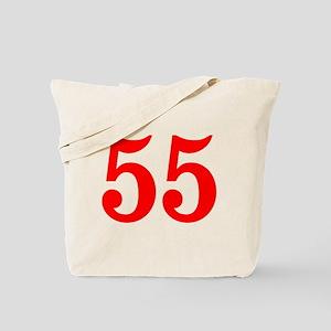 RED #55 Tote Bag