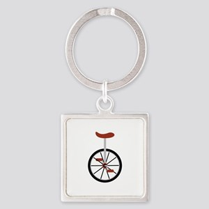 Red Unicycle Keychains