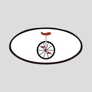 Red Unicycle Patches
