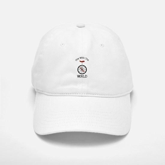 One With The World Baseball Baseball Baseball Cap