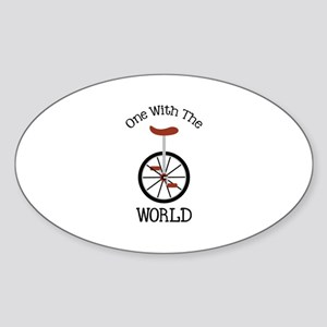 One With The World Sticker