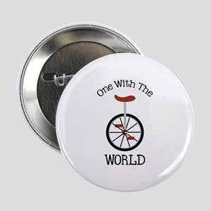 "One With The World 2.25"" Button"