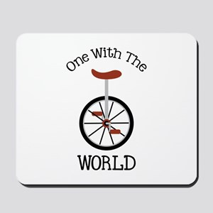 One With The World Mousepad