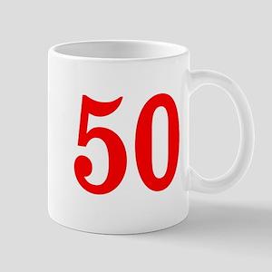 RED #50 Mug
