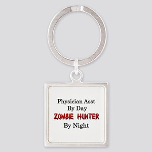 Physician Assistant/Zombie Hunter Square Keychain