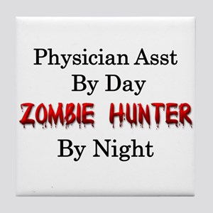 Physician Assistant/Zombie Hunter Tile Coaster