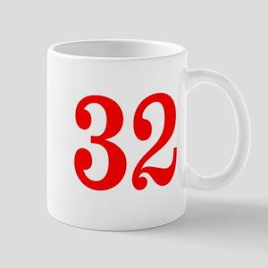 RED #32 Mug