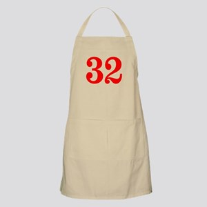RED #32 Apron