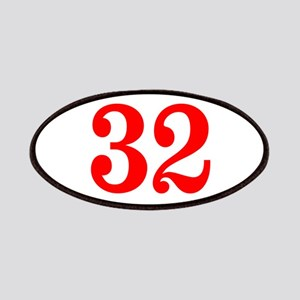 RED #32 Patches
