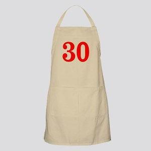 RED #30 Apron