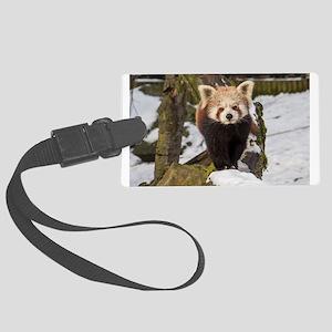 Cat-bear Large Luggage Tag
