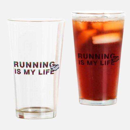 TOP Running Life Drinking Glass