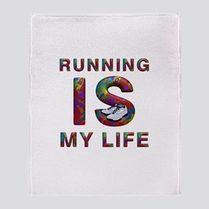 TOP Running Life Throw Blanket