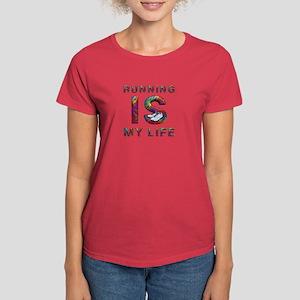 TOP Running Life Women's Dark T-Shirt