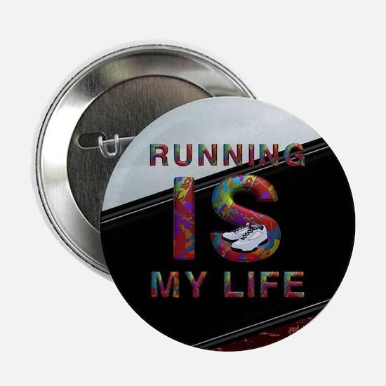 "TOP Running Life 2.25"" Button"