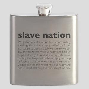 slave nation Flask