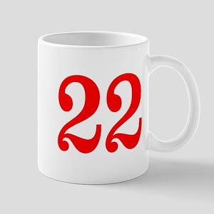 RED #22 Mug