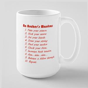An Archers Mantra Large Mug