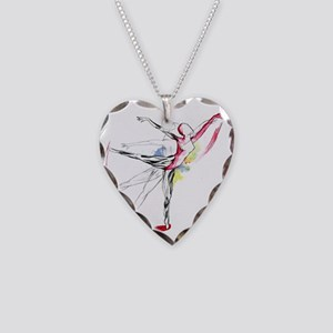 Anatomy of Ballet Necklace Heart Charm