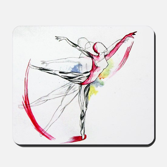 Anatomy of Ballet Mousepad