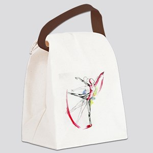 Anatomy of Ballet Canvas Lunch Bag