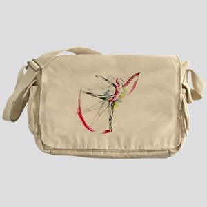 Anatomy of Ballet Messenger Bag