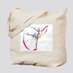 Anatomy of Ballet Tote Bag