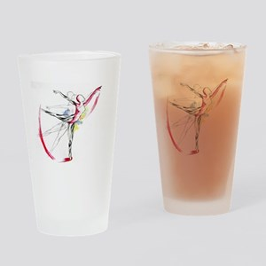 Anatomy of Ballet Drinking Glass