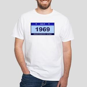 1969 Emmy Comedy White White T-Shirt
