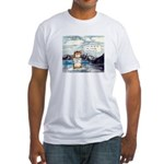 Abrahamster in Alaska Fitted T-Shirt