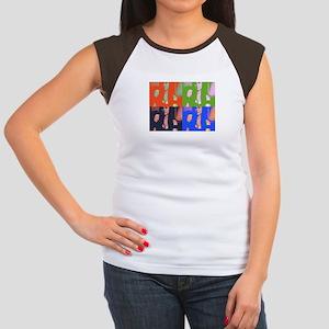4 Brooke's Women's Cap Sleeve T-Shirt