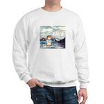 Abrahamster in Alaska Sweatshirt (white)