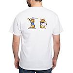 Abrahamster in Alaska White T-Shirt