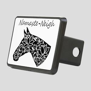 Horse Namaste Neigh Rectangular Hitch Cover