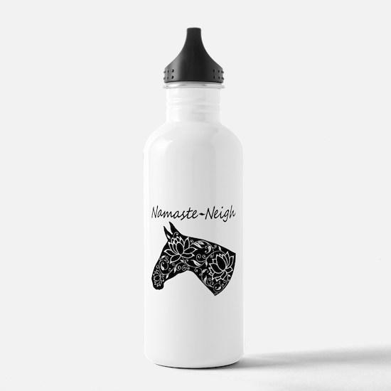Horse Namaste Neigh Water Bottle