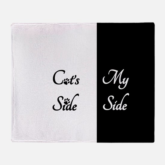 Cats Side My Side Throw Blanket