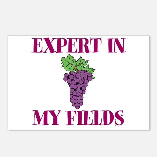 Expert in My Fields Postcards (Package of 8)