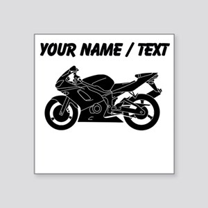 Motorcycles Silhouette Stickers Cafepress