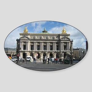 The Opera Garnier Sticker (Oval)