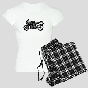 Black Crotch Rocket Pajamas