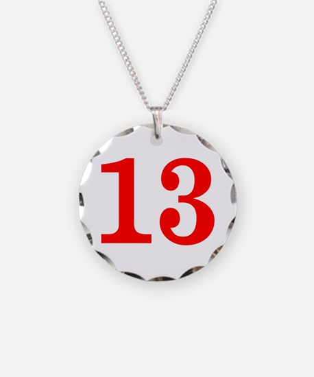 RED #13 Necklace
