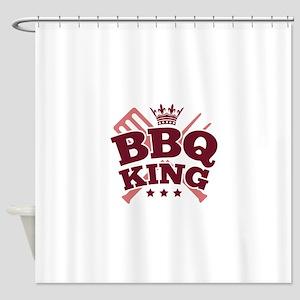 BBQ KING Shower Curtain