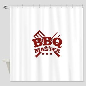 BBQ MASTER Shower Curtain