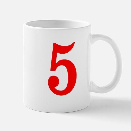 RED #5 Mug
