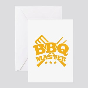BBQ MASTER Greeting Card