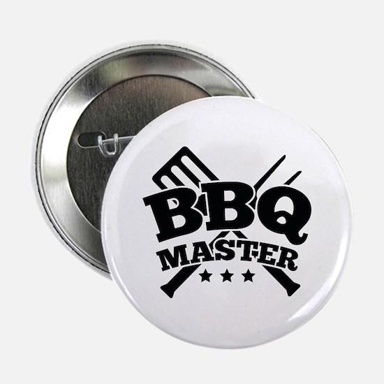 """BBQ MASTER 2.25"""" Button"""
