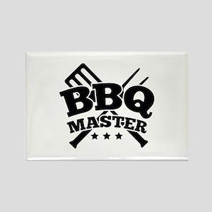 BBQ MASTER Rectangle Magnet
