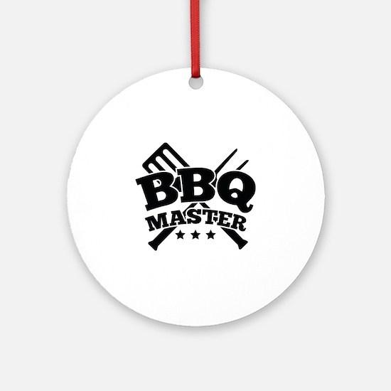 BBQ MASTER Ornament (Round)