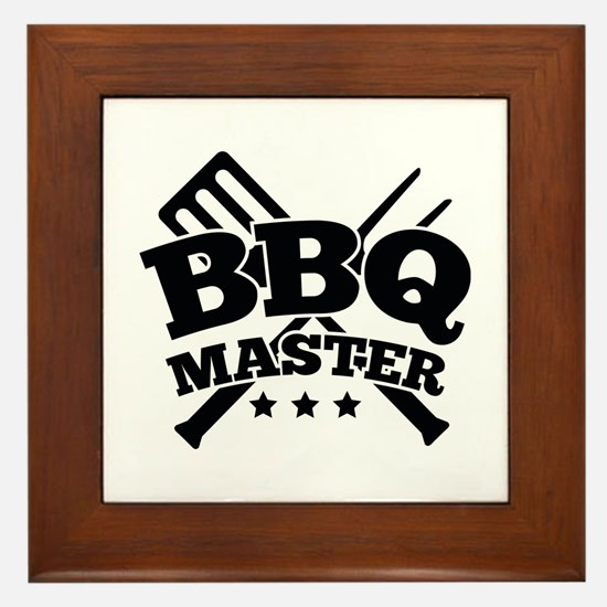 BBQ MASTER Framed Tile